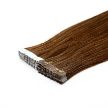 Professional Manufacturer Double Drawn Invisible Tape Brazilian Human Remy Extension Virgin Hair