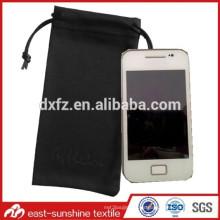 Bolsa de microfibra bolsa de teléfono suave de microfibra, logo personalizado micrfofiber bolsa impresa