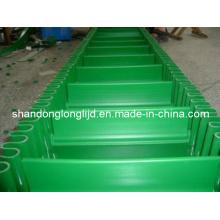 Grünes Gummi-Seitenwand-Förderband