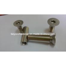 Втулка для болтов с шестигранной головкой DIN7991 Винт A4-70 A4-80