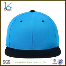 6 panel plain blank snapback hat