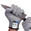 Уровень качества еды 5 Защита порезостойкие перчатки