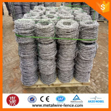 Factory supply hot dip galvanized weight barbed wire machine