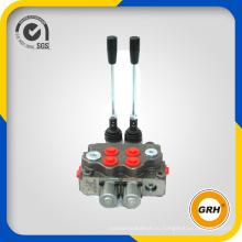 160L / Min Чугунный гидравлический моноблочный клапан золотникового клапана