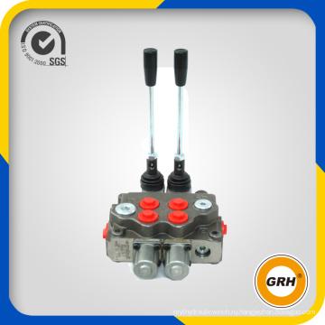 Гидравлический направленный моноблочный регулирующий клапан с 2 бассейнами, 160 л / мин