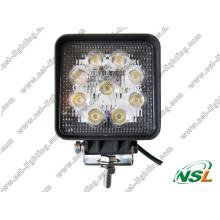 Hot Sale LED de haute qualité de travail et de haute luminosité 27W LED Driving Light Spot LED/projecteur