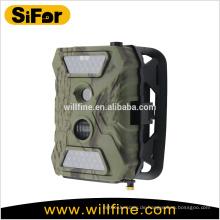 Solar-Sicherheit Kamera drahtlose Outdoor 12MP 720P batteriebetriebene Unterstützung Handy Remote Access
