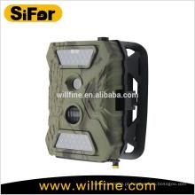 Câmera de segurança solar sem fio ao ar livre 12MP 720P bateria operado apoio celular acesso remoto
