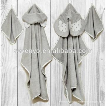 Natemia бамбука с капюшоном Банное полотенце с высокой впитывающей способностью, мягкий, бактериальный полотенце для мальчиков, девочек, новорожденных,медведь ,слон