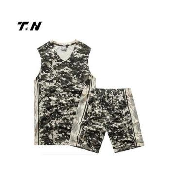 Sublimasi Basketball Uniform Kustom Tim Basketball Wear Grosir Terbaru Desain Terbaik Basketball Jersey
