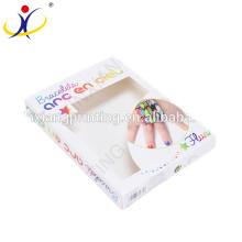 Розничная красочные коробки упаковки спортивный браслет с пользовательскими логотип