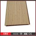 Holzmuster Platten WPC zusammengesetzte Wand