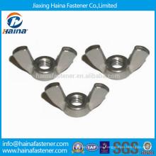 Stock JIS B 1185 Нержавеющая сталь квадратная крылатая гайка