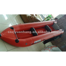 4m 0.9 pvc optional color inflatable boat canoe H-KP400