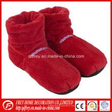 Bota calentadora de pie con bolsa de trigo y lavanda