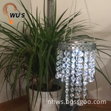 Reasonable acceptable price Amorphous solar panel decorative chandeliers pendant lights crystal