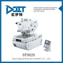 DT-9820Haute-vitesse informatisé bouton oeillet holing machine à coudre industrielle de haute qualité meilleur prix