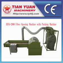 Nonwoven Microfiber Opening Machine with Bale Packing Machine