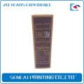 Caja de color de empaquetado de papel cosmética del hombre de encargo barato del fabricante de China