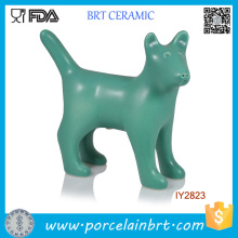 Creative Green Dog Ceramic Salt and Pepper Shaker