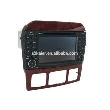Mirror linkl ! Android 4.4 car dvd player for universal Benz Smart +OBD2 +Glanoss+TPMS