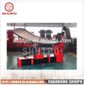Máquina plegadora de cabezal inclinado irregular, sin plantilla Máquina plegadora de cabezal inclinado irregular (máquina de cabezal plano)