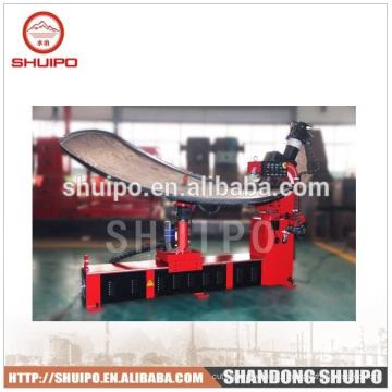 Tête de réservoir formant la machine / machine de finition de fin / machine à cintrer en acier / machine à cintrer de tête de plat / machine se pliante de bord