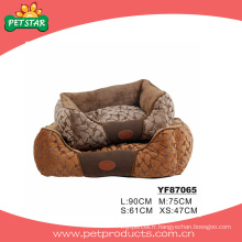 Lits de chien d'animal domestique luxueux de style européen (YF87065)