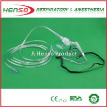 HENSO Einweg-PVC Medizinische Sauerstoffmaske