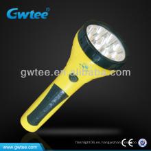 GT-8155 15 LED mejor luz antorcha láser