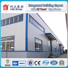 Entrepôt préfabriqué en acier léger de haute qualité en Chine