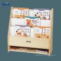 Neuer Entwurf kundengebundener Buch-Präsentationsständer, heißer Verkaufs-hölzerner Zeitschriftenständer
