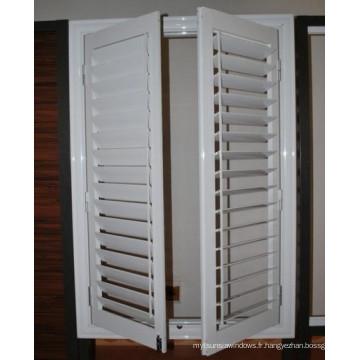 Bonne qualité et prix raisonnable Aluminium Casement Louvers Windows