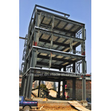 High Rise Steel Structure Building with Good Quality Professional Fabrication