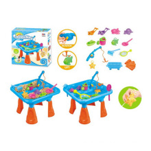Summer Outdoor Toy Sand Beach Play Fishing Set (H1336131)