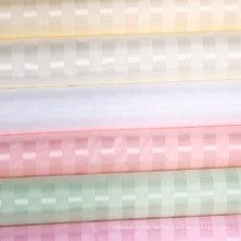 100% Polyester Streifen wasserdichte Duschvorhang Großhandel (DPF061130)