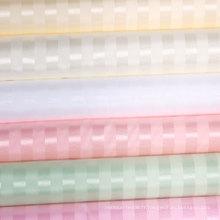 Rideau de douche imperméable à 100% en polyester à rayures en gros (DPF061130)