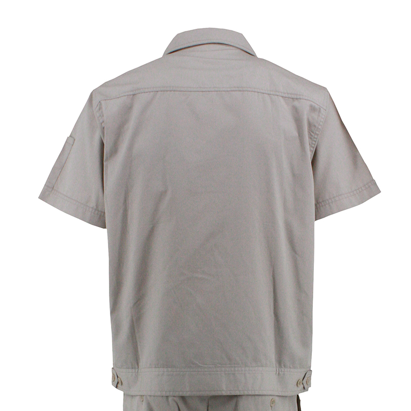 Short Sleeved Labor Insurance Clothing