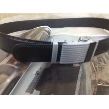 Men Ratchet Leather Belt (A5-140703)