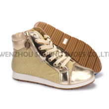 Women′s Shoes Leisure PU Shoes with Rope Outsole Snc-55015
