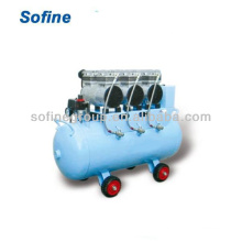 Silent Oilless Medical Air Compressor 60L Air compressor 2HP