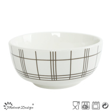 Homestyle Luxury Decal Ceramic Otameal Bowl