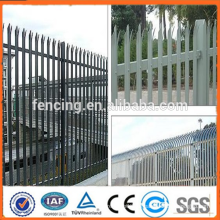 Pulverbeschichteter Zink-Stahlzaun / Metallzaun (SGS FACTORY)