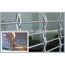 Забор из проволочной сетки из нержавеющей стали