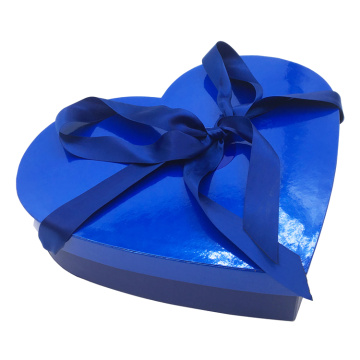 Custom Thick Card Heart Shaped Candy Box Packaging