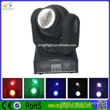 2 sides beam 2*10W RGBW led mini beam wash moving head