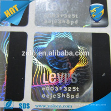 Latest custom scratch off hot stamping foil/hologram sticker with scratch off