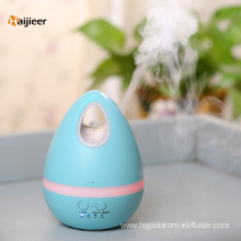 China Top 10 for Rechargeable Table Fan 200ml Egg LED Lights Ultrasonic Aroma Mist Humidifier export to France Exporter