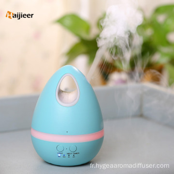 L'oeuf 200ml LED allume l'humidificateur ultrasonique de brume d'arome