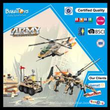 Oferta especial! Brinquedos educativos para adultos crianças brincar conjunto brinquedo caminhão militar e blocos de helicóptero tamanhos